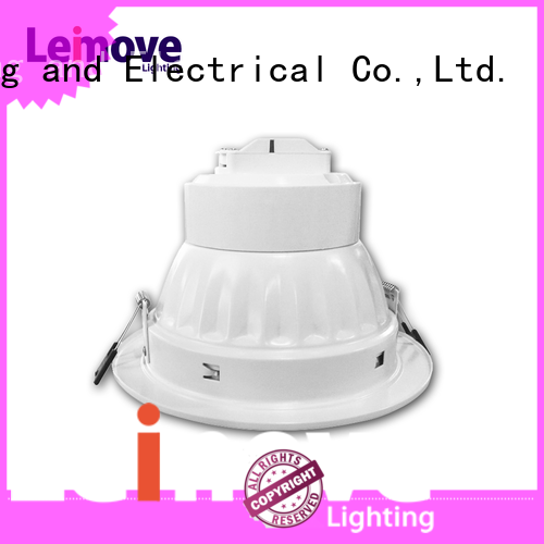 commercial illumination slim led downlights anti-dazzling custom made for wholesale