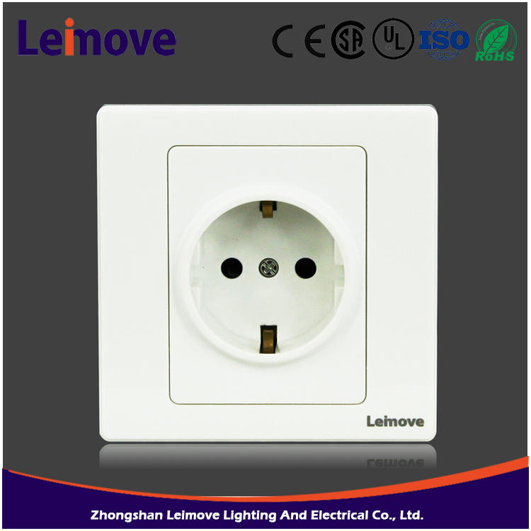 LMD-C30(A) high quality wall europe remote control light switch German standard socket