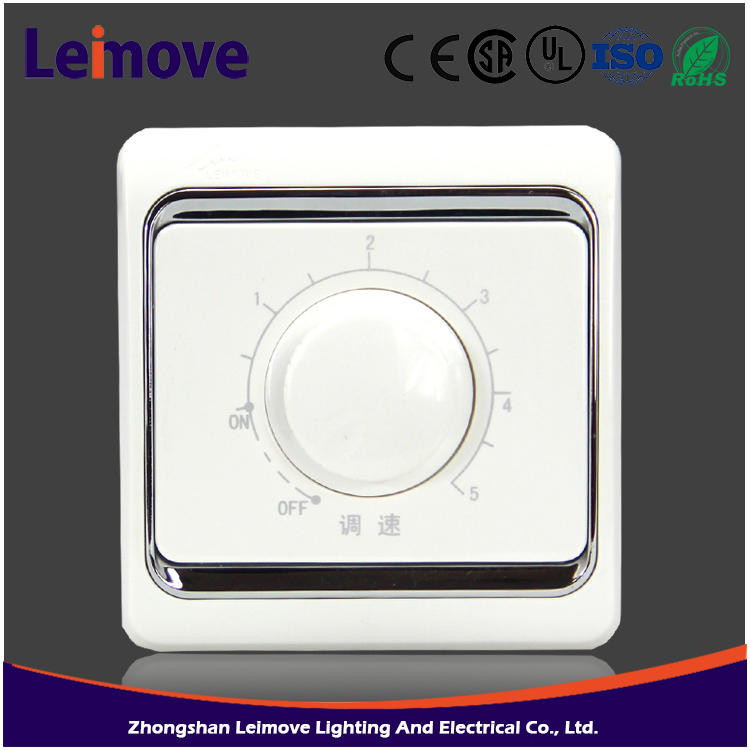 Latest hot selling European and Classic oven timer switch fan speed control wall switch