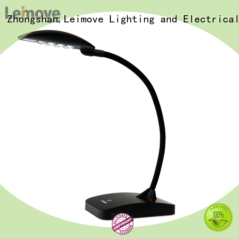 Leimove silver dimmable led desk lamp high-quality for sale
