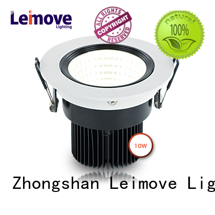 Leimove round shape led ceiling spot lights recessed for decoration