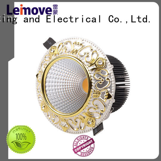 Leimove anti-dazzling dimmable led downlights surface mounted for customization