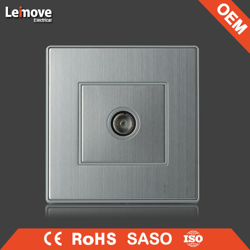 New arrival product 220v italian gold Simple electric motion sensor light switch