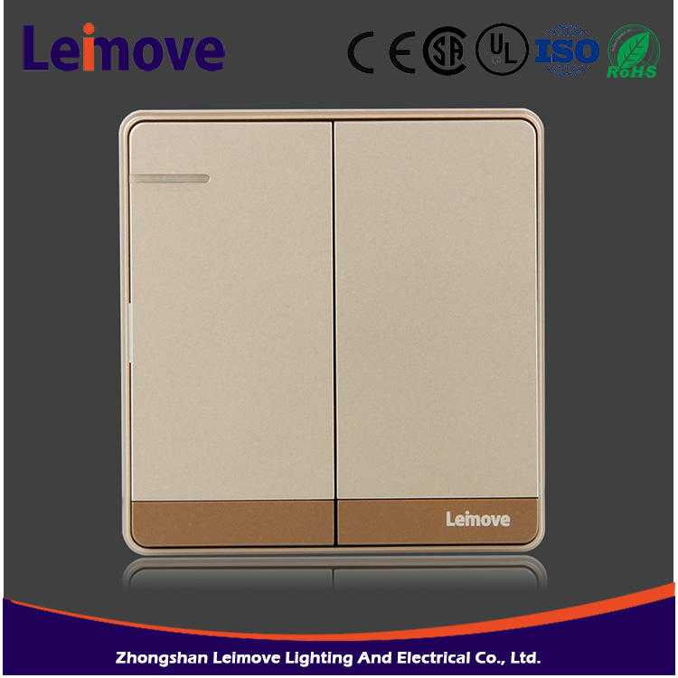 Leading manufacturing products New branded limit 86 series types 10a light wall electric switch