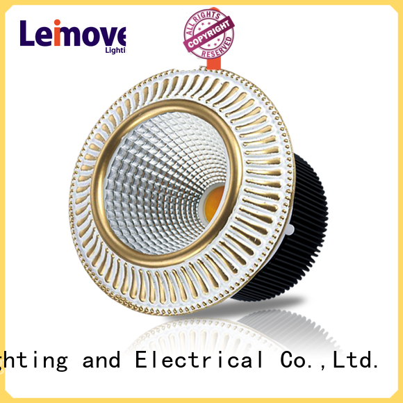 commercial illumination led recessed downlights cob custom made for customization