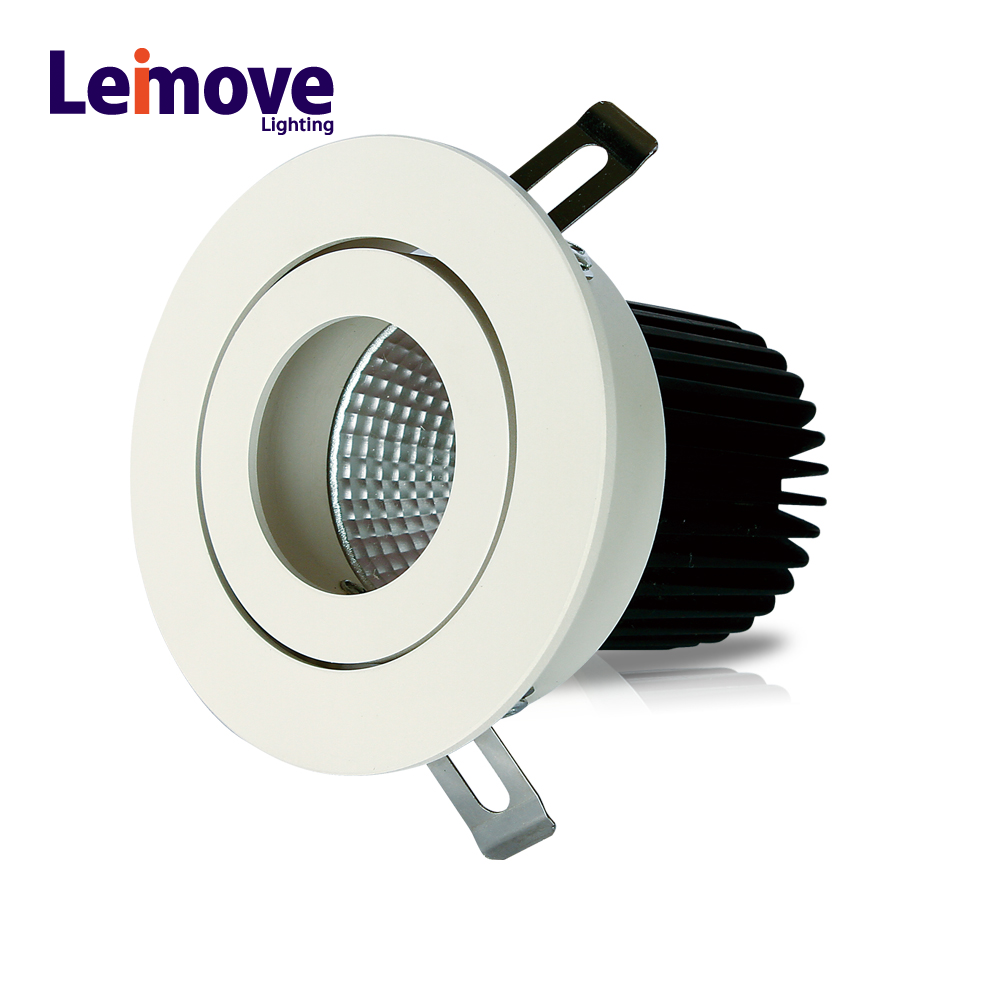 China supplier sales no flicker aluminum housing high power low price led spotlight
