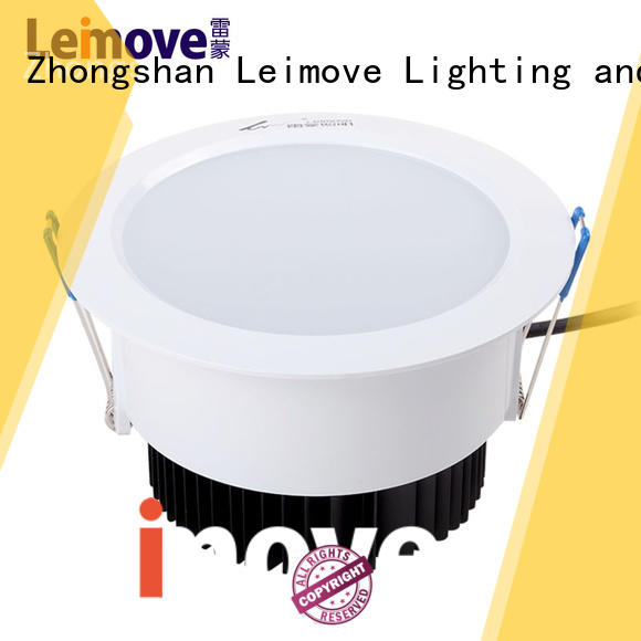 commercial illumination dimmable led downlights round custom made for sale