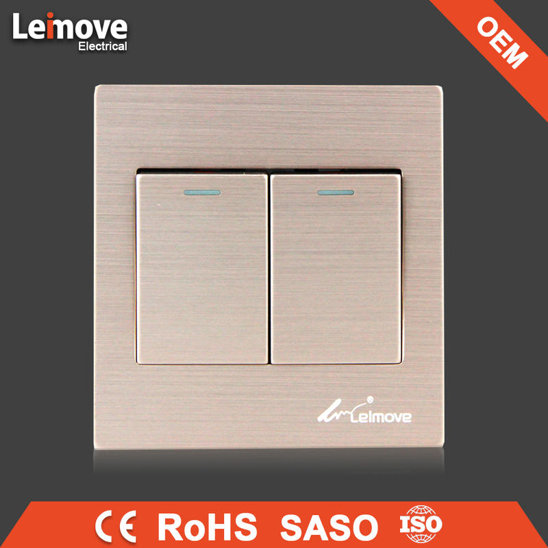 Wholesale high quality auto electric window switch new brush gold cheap electric switch