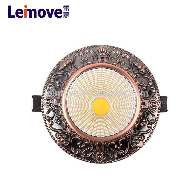 high quality and high power led downlight for high end shopping malls