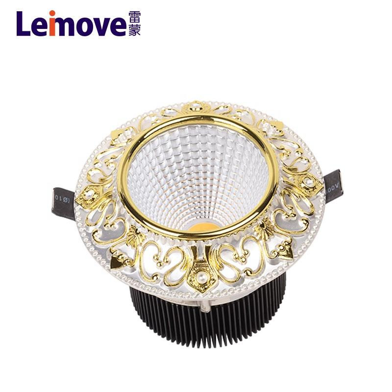 Warm White Pure White Cool White supported mini round led light downlight
