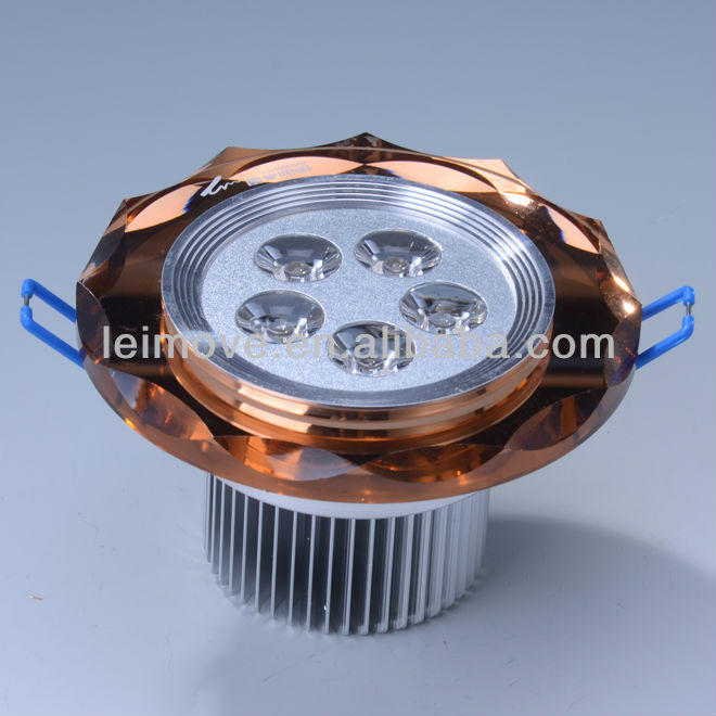 CE & Rohs 5w Crystal recessed led downlight