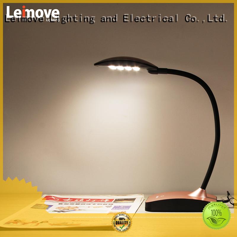 Leimove universal led table lamp bulk production for sale