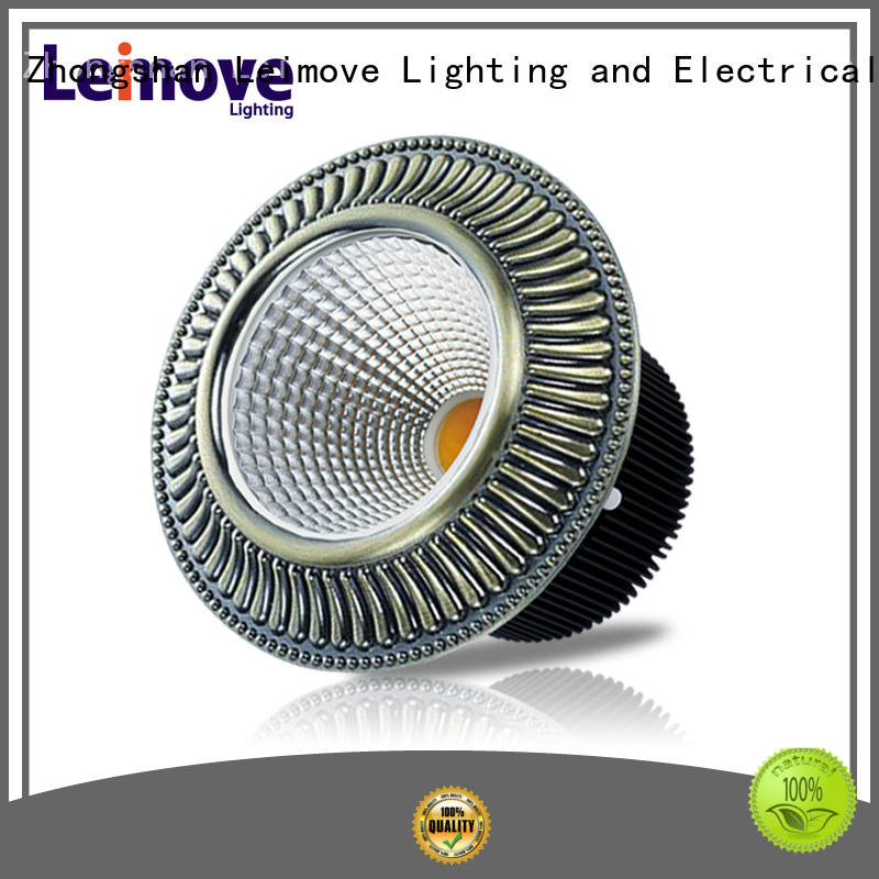 Leimove energy-saving outdoor led downlights white milky for customization