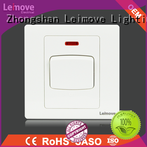 Leimove flame retardant electric switch free delivery for light