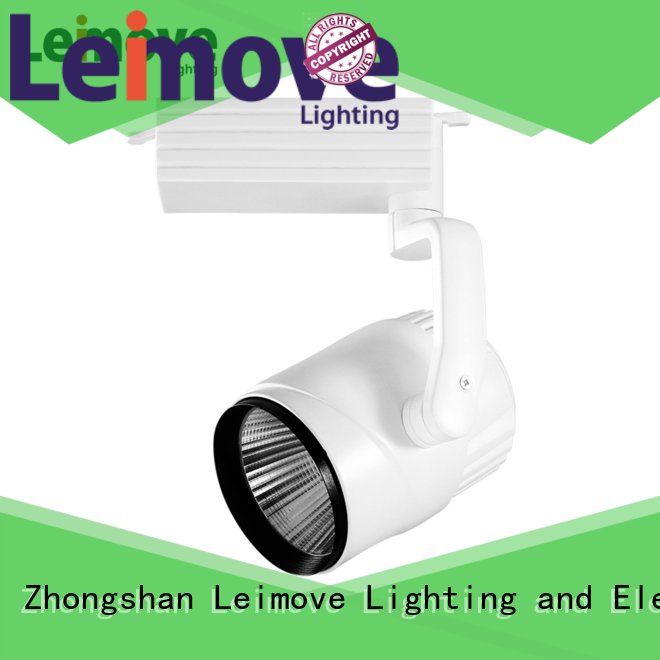 Leimove adjustable dimmable led track lighting hot-sale free design