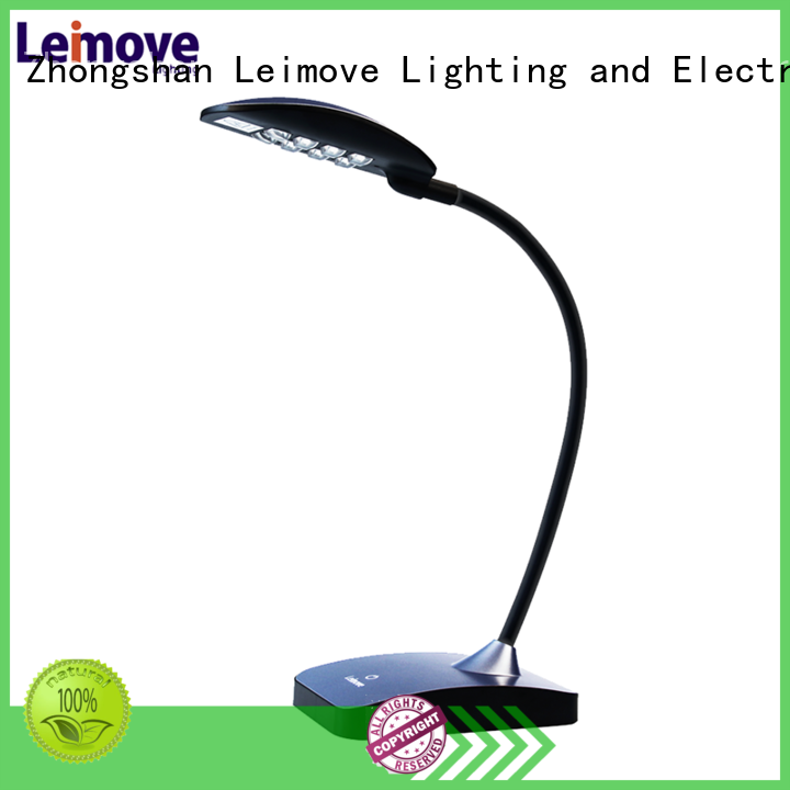 Leimove dimmable led study lamp bulk production for wholesale