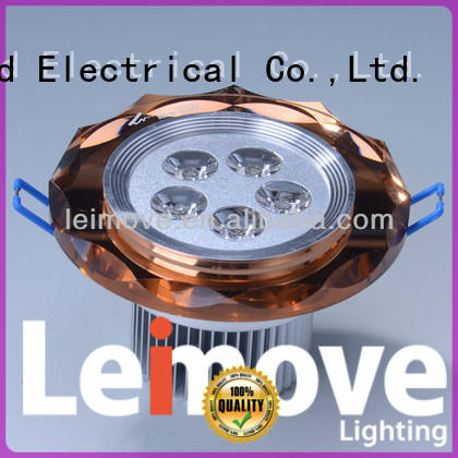 Leimove round adjustable led downlights white milky for wholesale