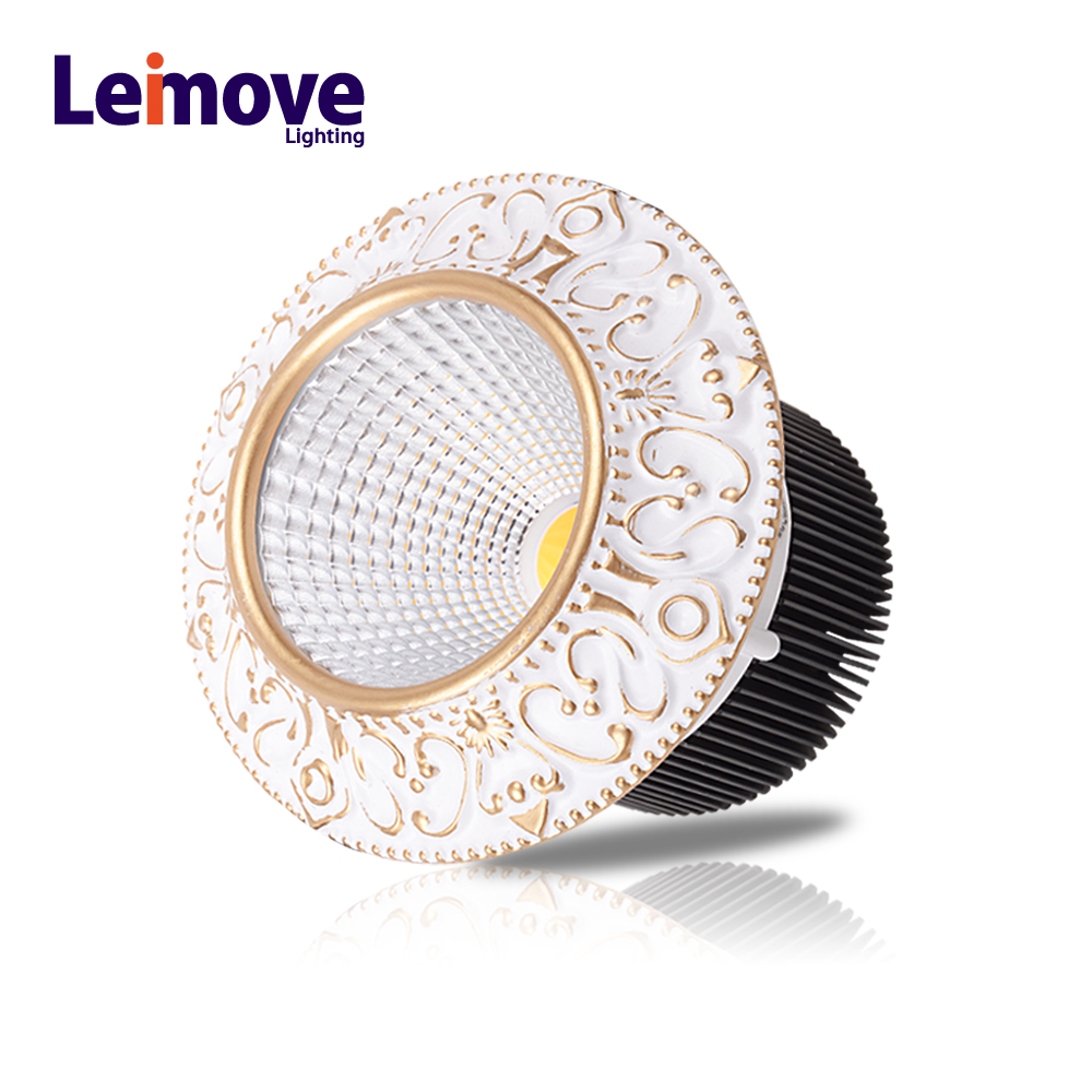 europe type led cob light 2018 with led driver 75v