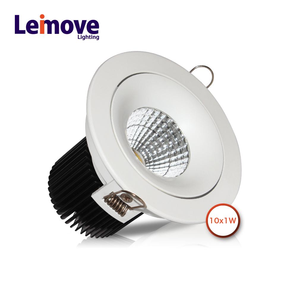 CE & Rohs aluminum 2700K 12v led ceiling light