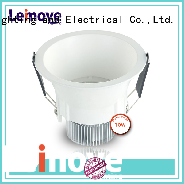 Leimove ceiling decoration adjustable led downlights custom made for customization