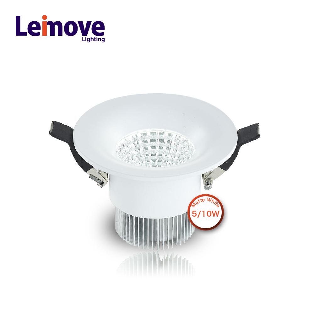 high lumen 220v led light lamp cob down light