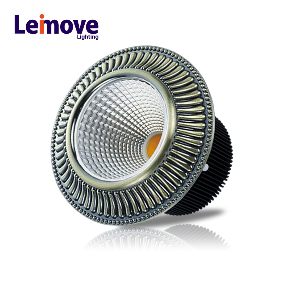 Cost-effective interior lighting LED zinc alloy COB down light