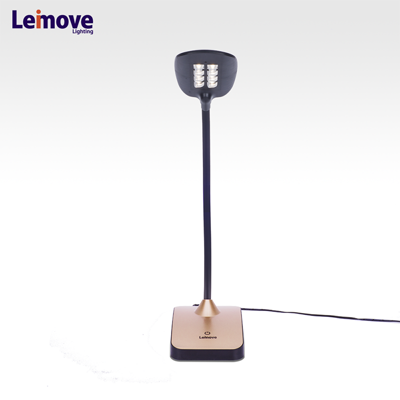 Controlled by a simple touch sensitive panel high CRI student study use small newly factory table lamp