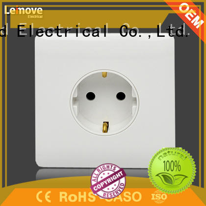 Leimove highly-rated plug socket simple structure bulk production