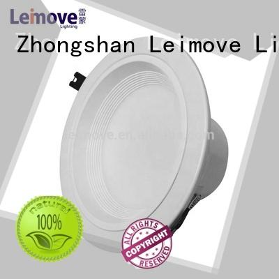 Leimove ceiling decoration outdoor led downlights white milky for sale