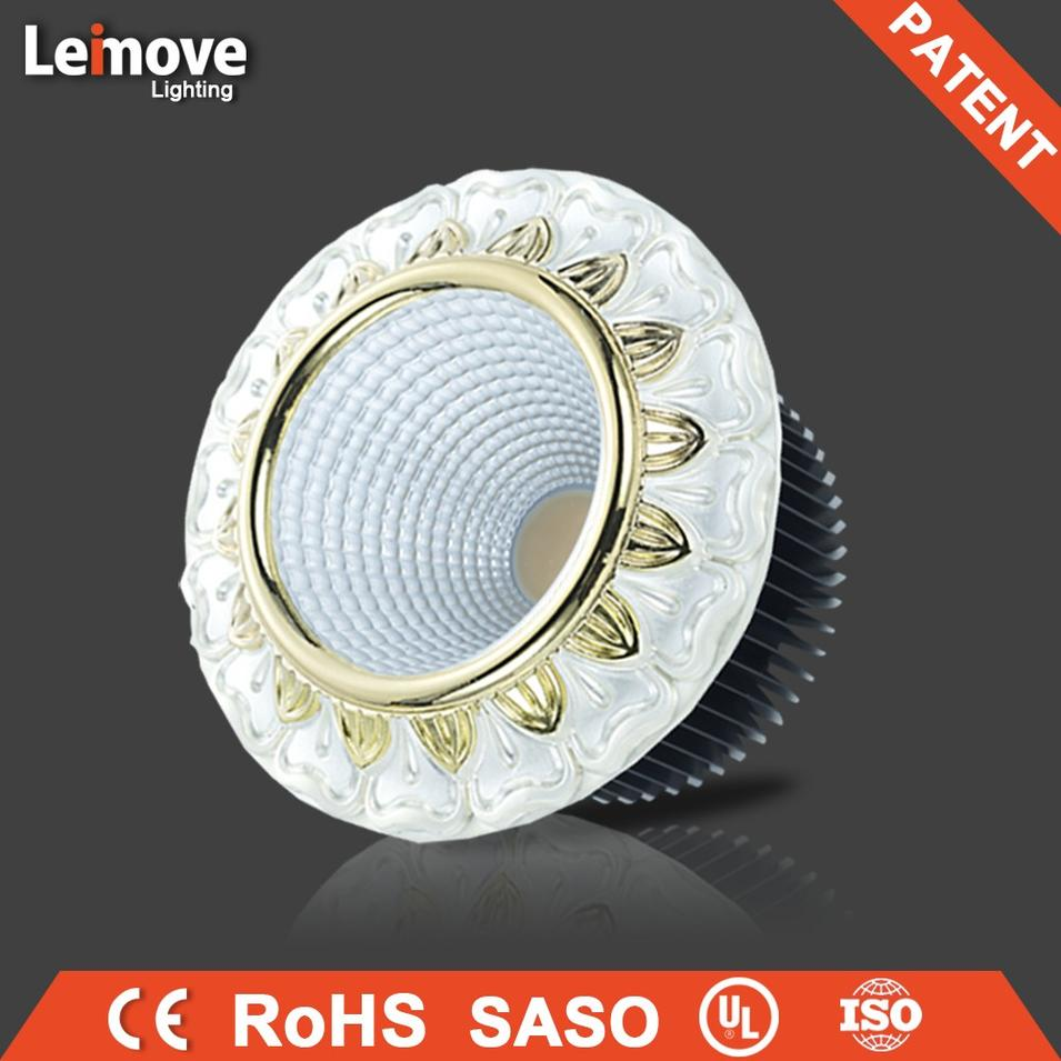 15W gold led COB recessed spot light