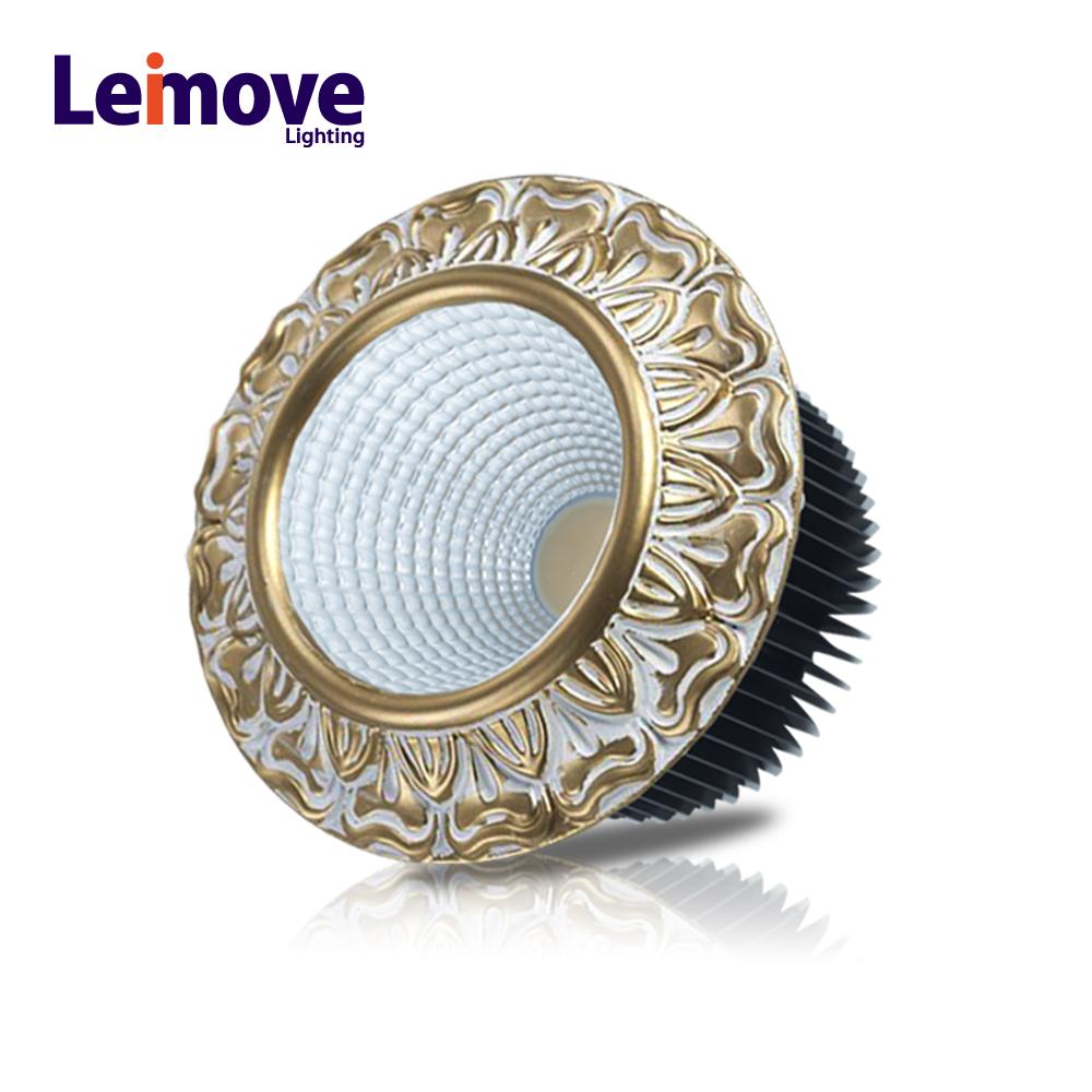 european classic lighting 1500lm recessed led 15w downlight