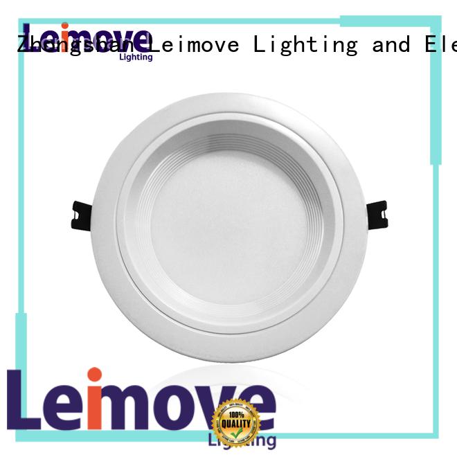 Leimove energy-saving led recessed downlights custom made for customization