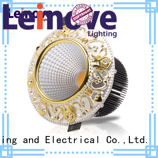 Leimove silver-gold dimmable led spotlight bulbs ultra bright for wholesale