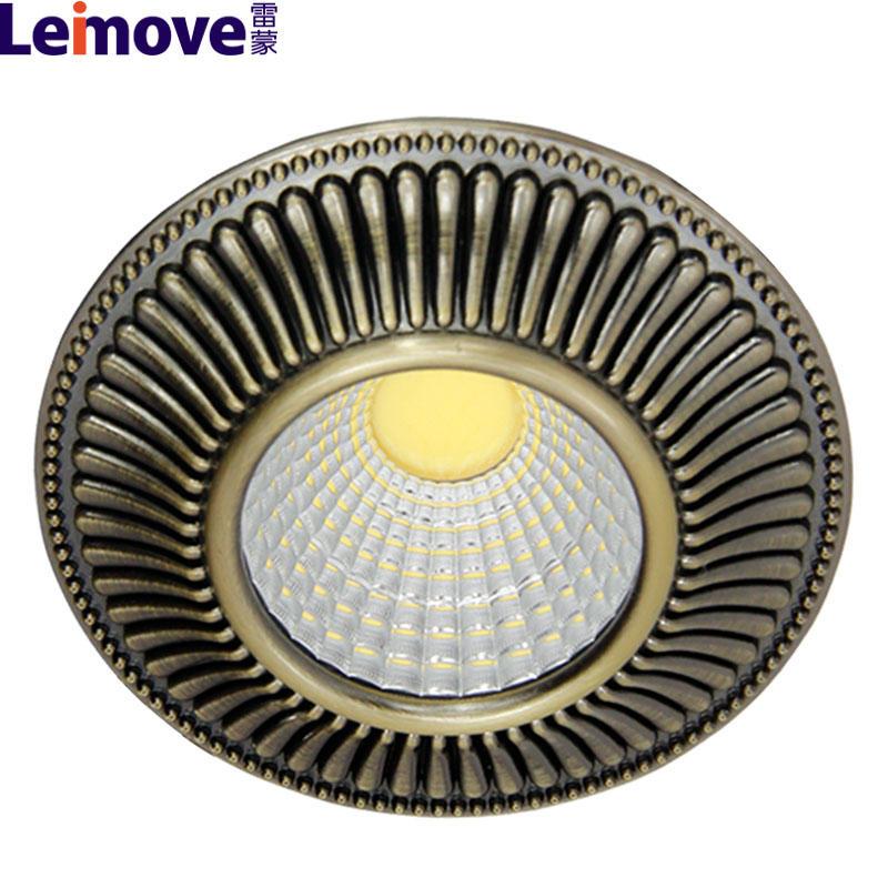 european standard led light track high luminous 10w led recessed downlight