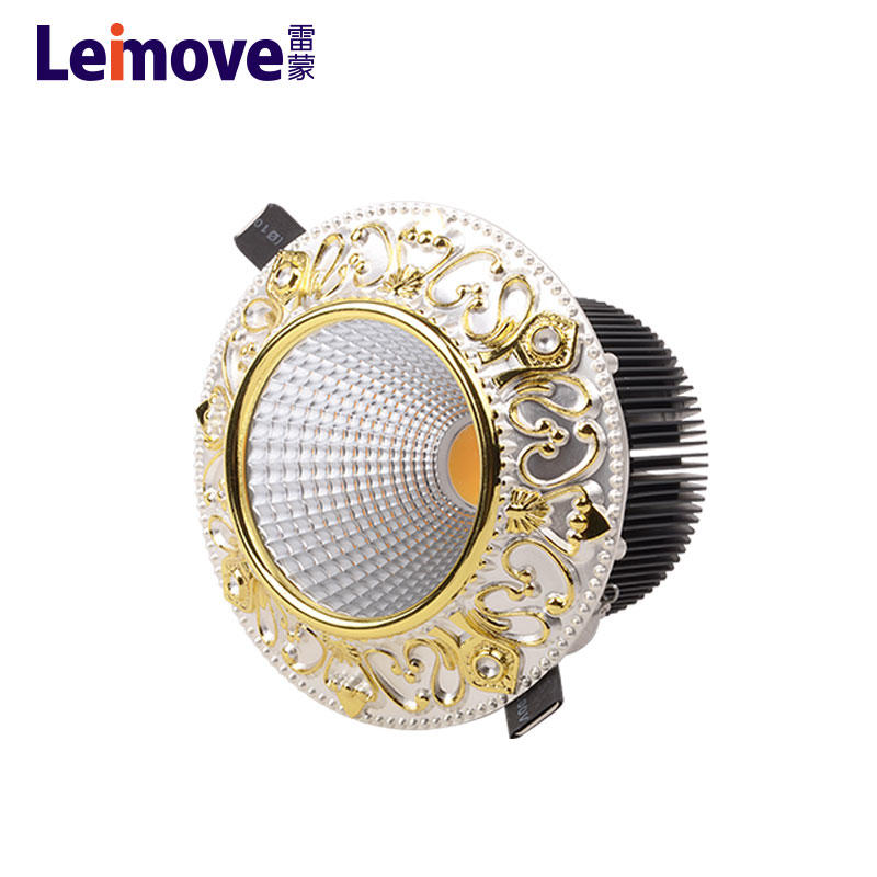 5w led downlight fitting & high quality dimmable cob led downlight