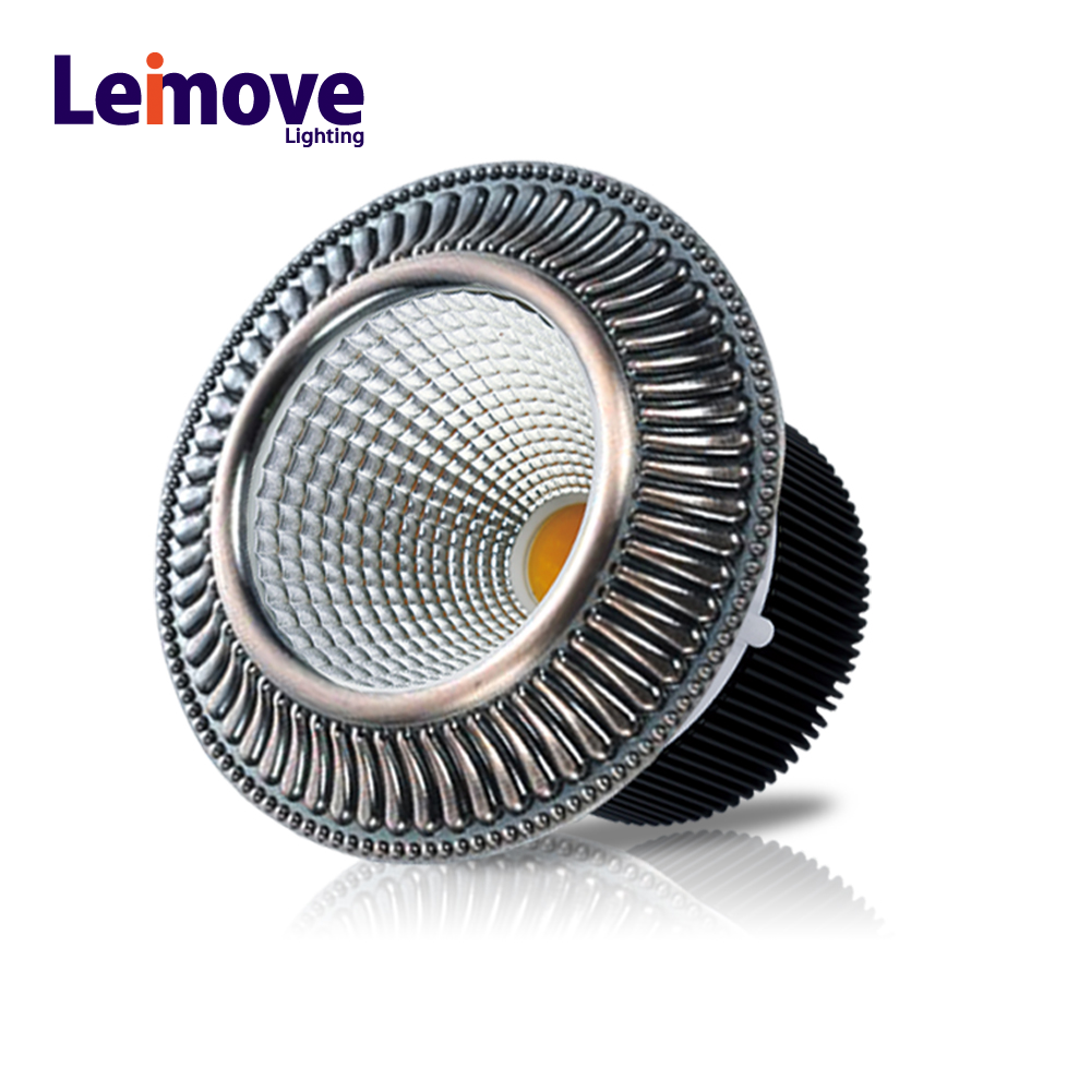 Decorative cob downlight 15w dimmable led spotlight