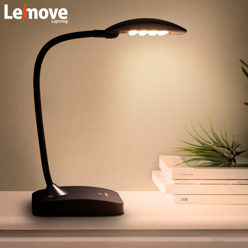 2017 NEW Dimmable USB port rechargeable Touch Sensor LED rechargeable Desk Lamp moderen study Table Lamp
