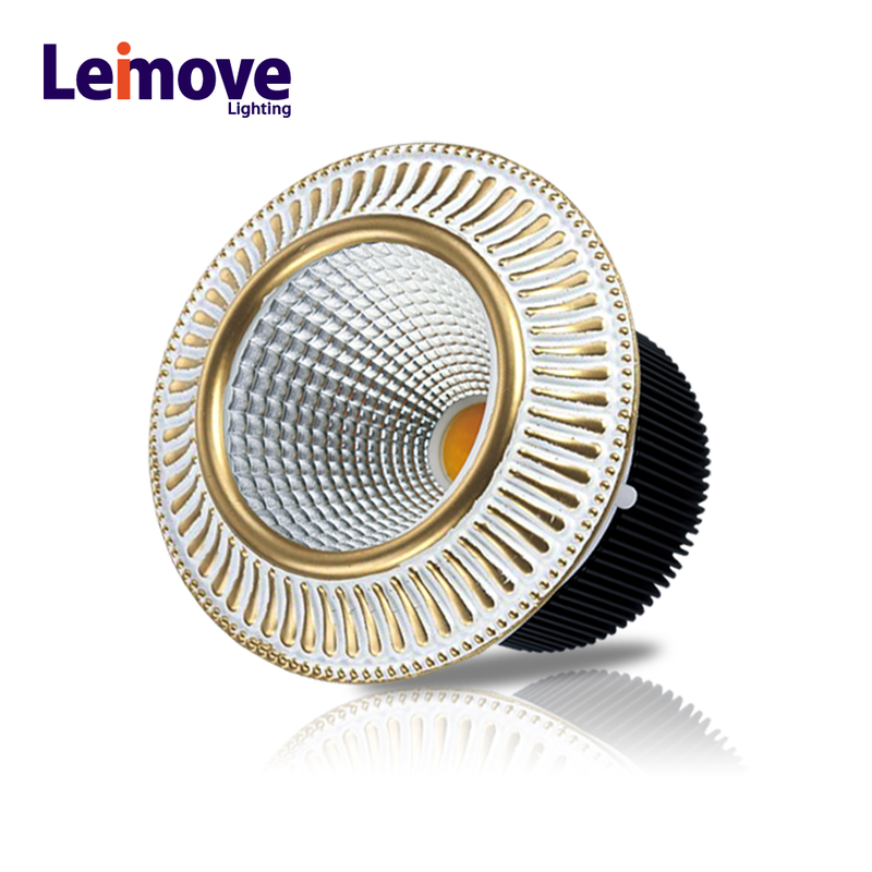 recessed round cob high power led spotlights