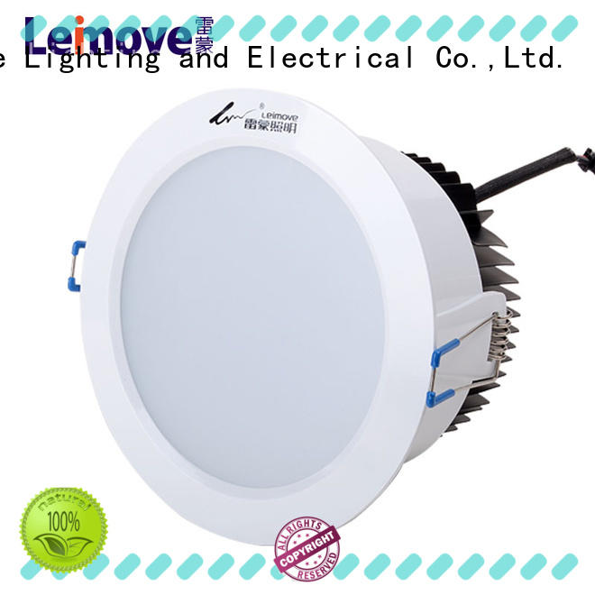 Leimove cob dimmable led downlights custom made for customization
