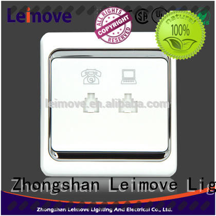 Leimove high-quality electric switch free delivery lighting accessories