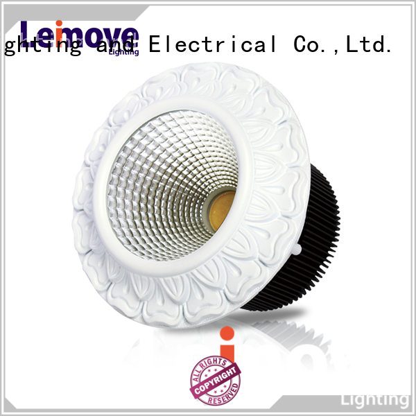 Leimove cob dimmable led downlights custom made for sale