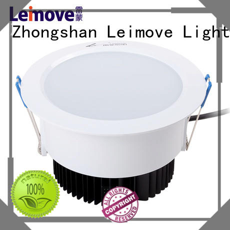 Leimove years warranty outdoor led downlights white milky for wholesale
