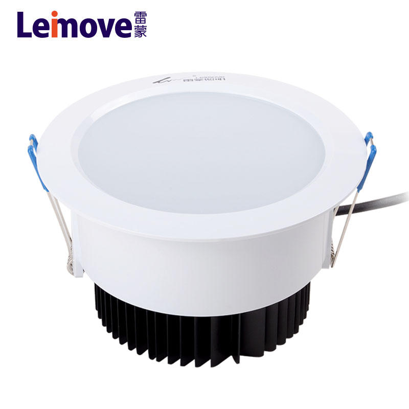 factory round recessed 12w led downlight australian standard