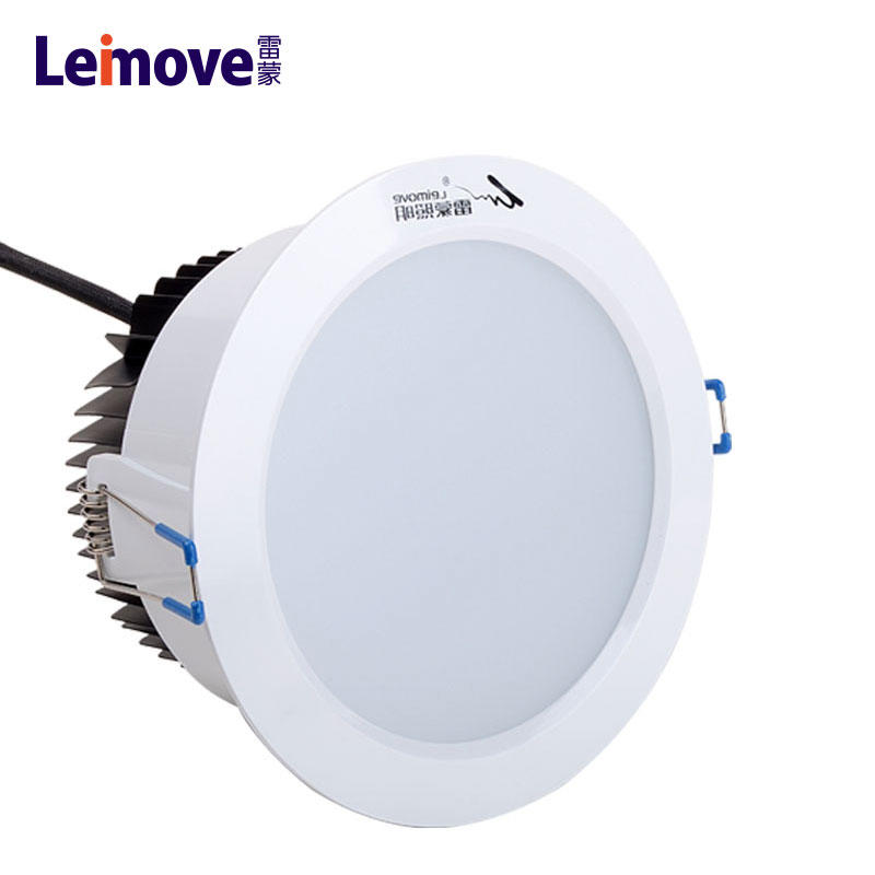 Led down light 9watt downlight with aluminium heatsink