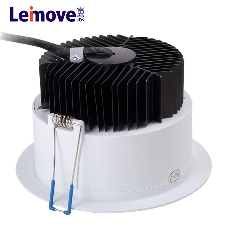 LED downlight UK Germany Italy Europe countries use