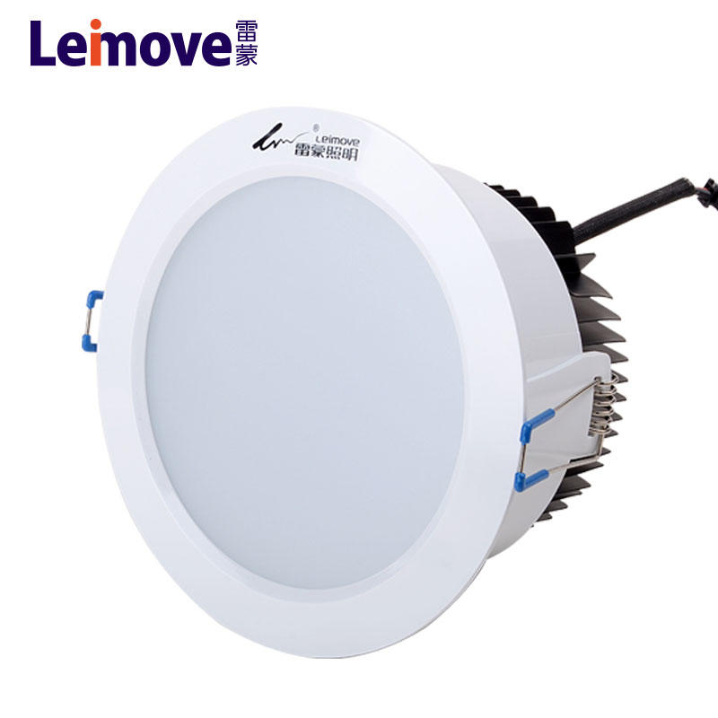 Electrical Led Down Lights 12w 15w white diecasting aluminium downlight