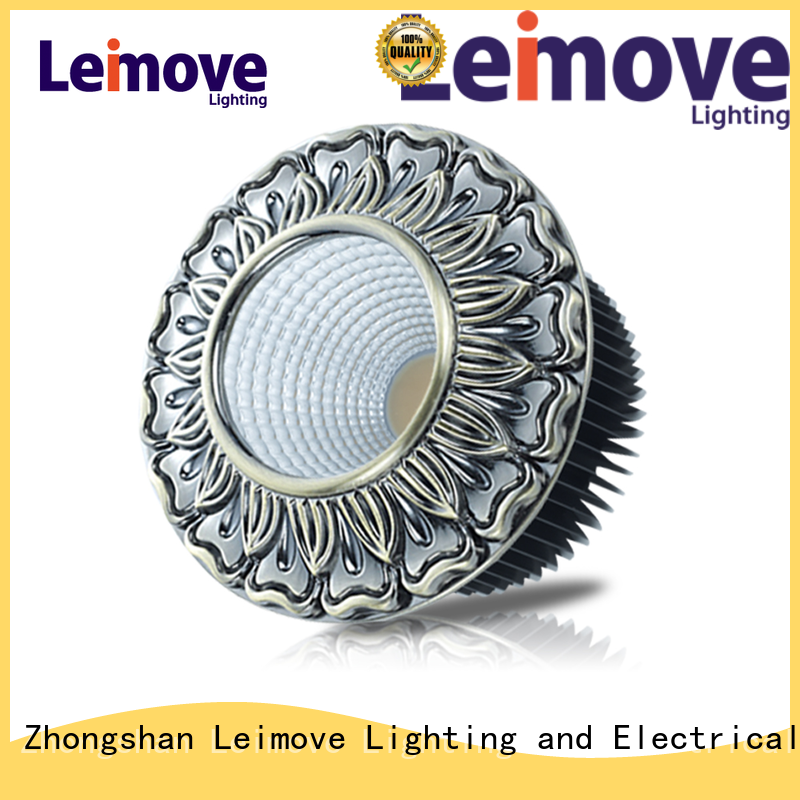 Leimove years warranty bathroom led downlights white milky for customization
