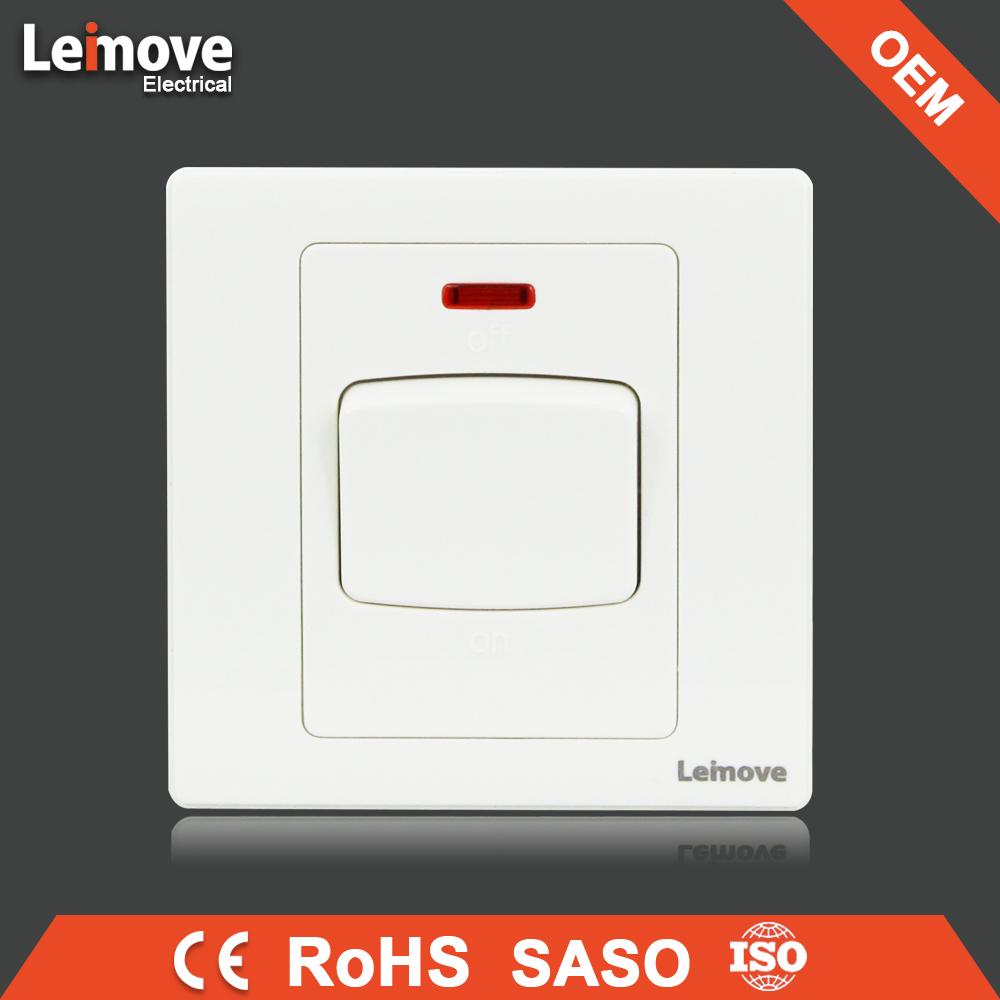 white 45A AC switch 230v