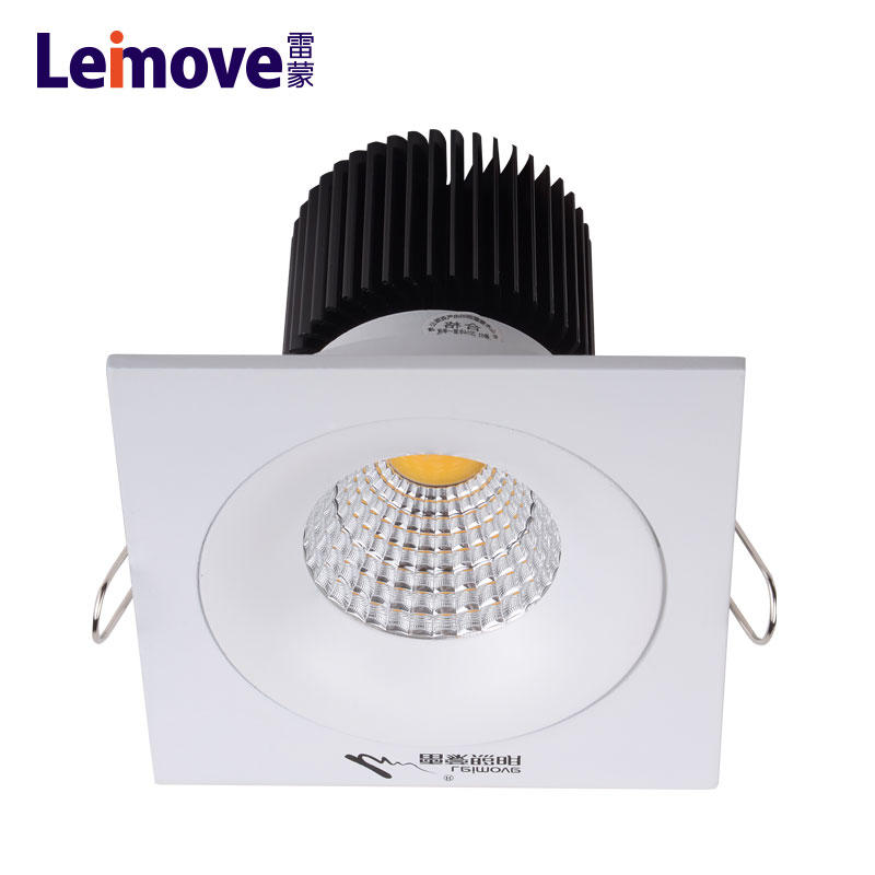 ip20 pop12w led recessed ceiling lighting