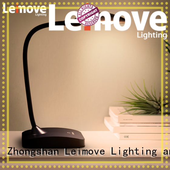 Leimove black best led desk lamp by bulk for student